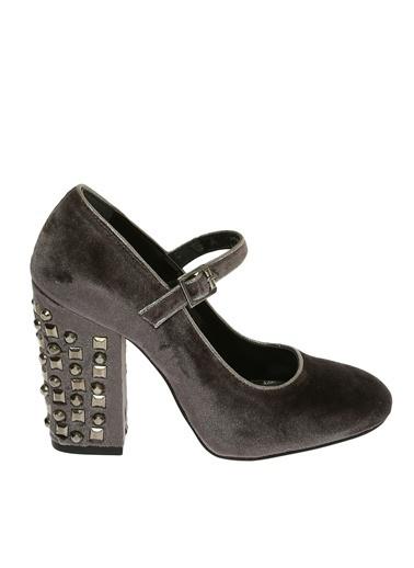 Black Pepper Topuklu Ayakkabı Gri